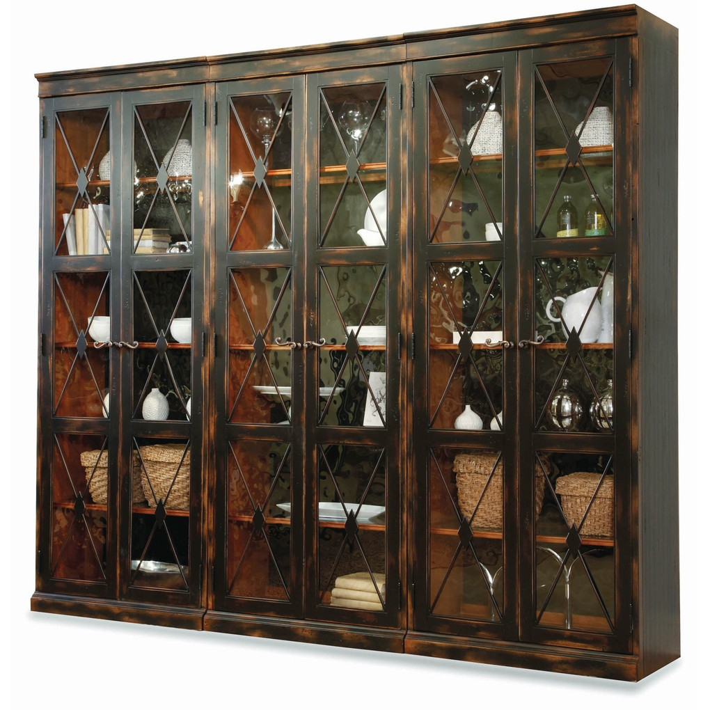Two Door Thin Display Cabinet | Hooker Furniture