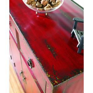 "58"" Red Asian Cabinet | Hooker Furniture"