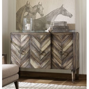 Chevron Console | Hooker Furniture