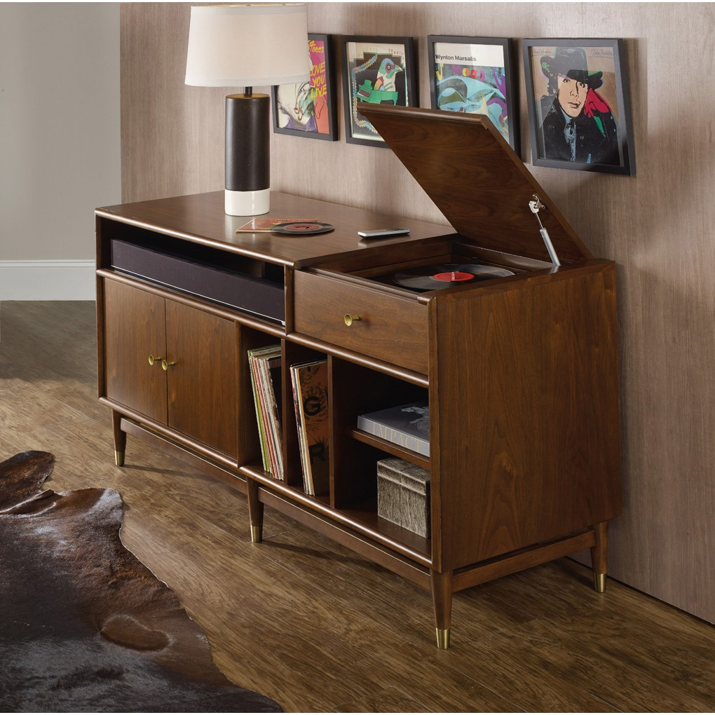 LP Record Player/Gaming Entertainment Console   Hooker Furniture