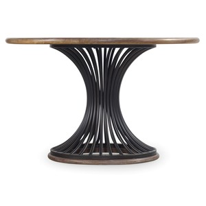 Cinch Round Dining Table | Hooker Furniture