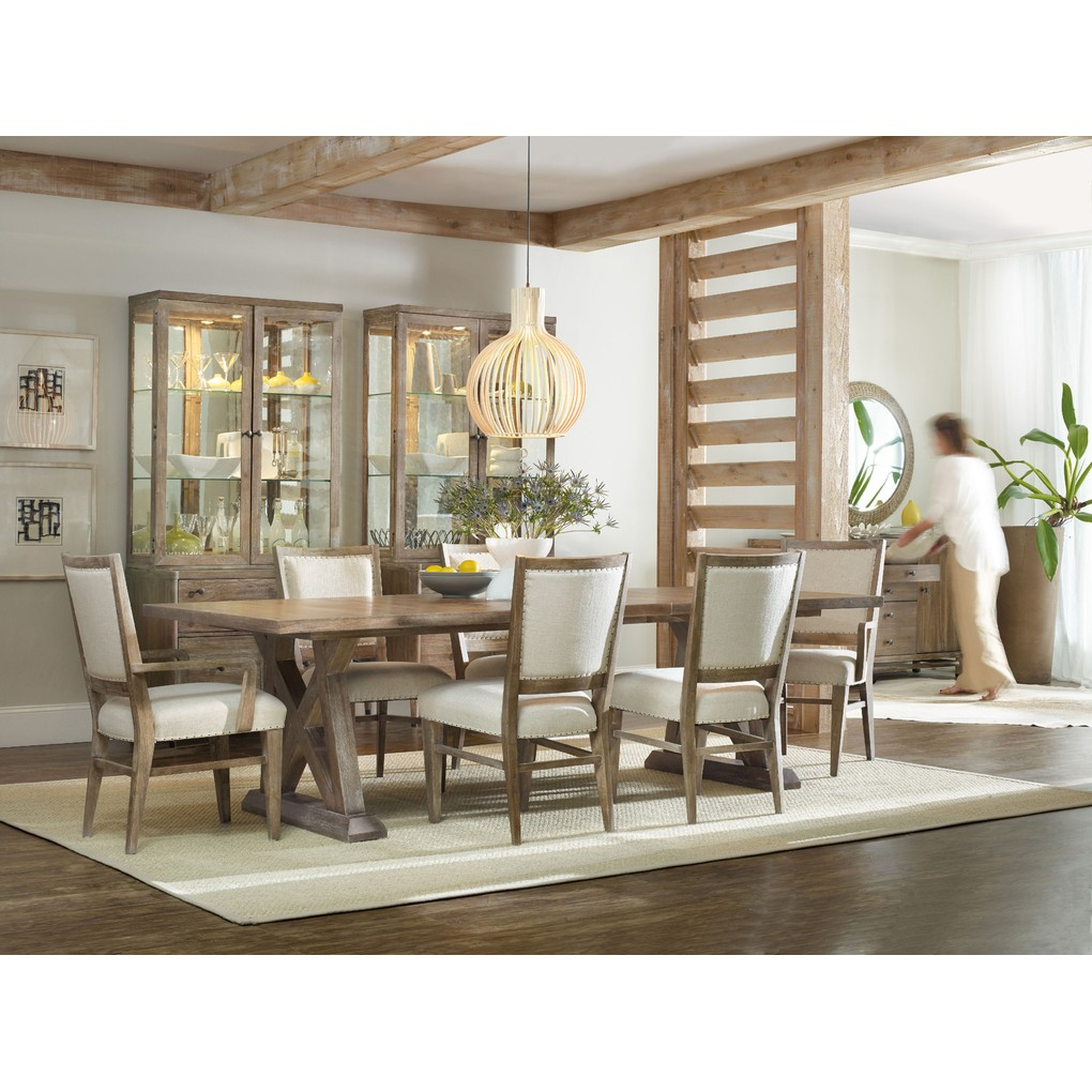 Geo Trestle Dining Table | Hooker Furniture