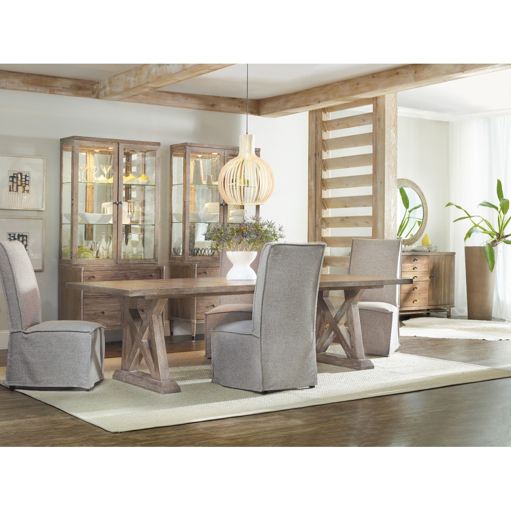 Geo Trestle Dining Table | Hooker Furniture