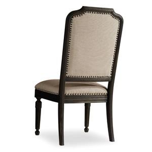 Corsica Dark Upholstered Side Chair | Hooker Furniture