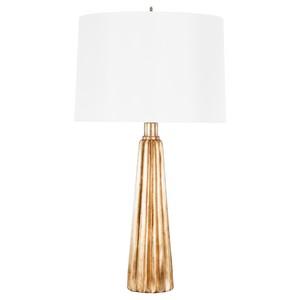 Tassel Shaped Gold Leaf Lamp Base