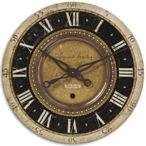 "Auguste Verdier 27"" Wall Clock 