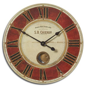 "S.B. Chieron 23"" Wall Clock 
