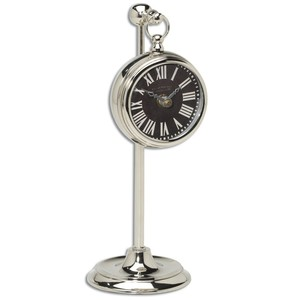 Pocket Watch Nickel Marchant Black | The Uttermost Company