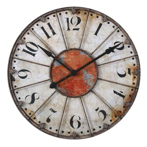 "Ellsworth 29"" Wall Clock | The Uttermost Company"