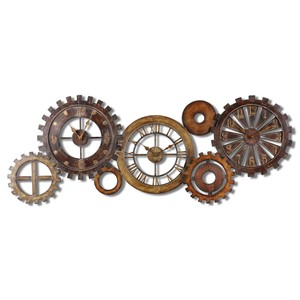 Spare Parts Wall Clock | The Uttermost Company