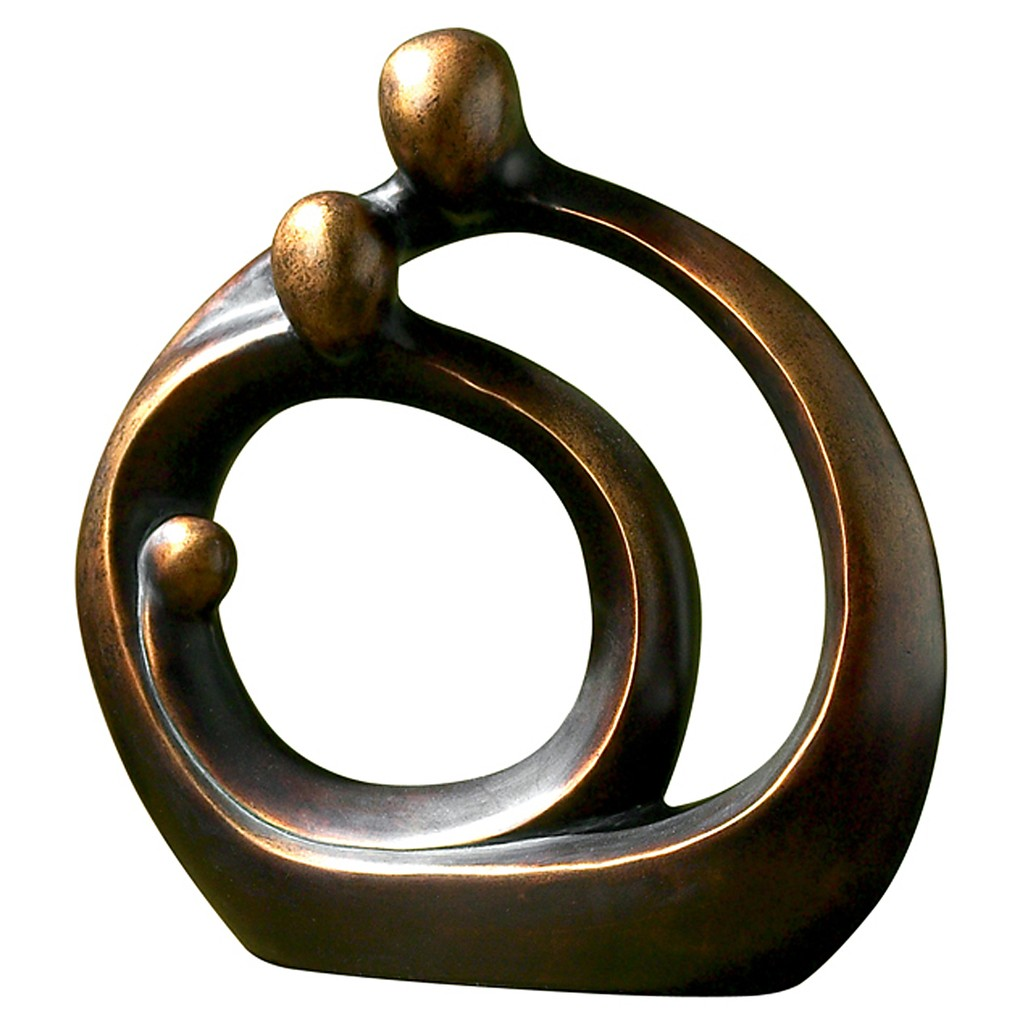 Family Circles Bronze Figurine | The Uttermost Company