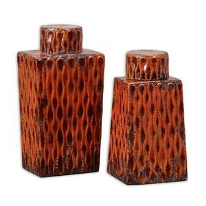 Raisa Burnt Orange Containers