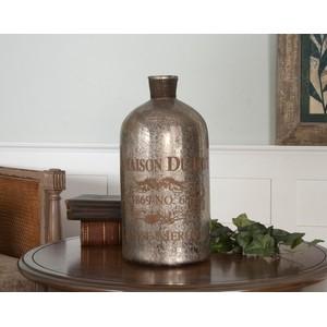 Lamaison Mercury Glass Bottle | The Uttermost Company