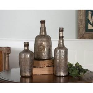 Lamaison Mercury Glass Botttles