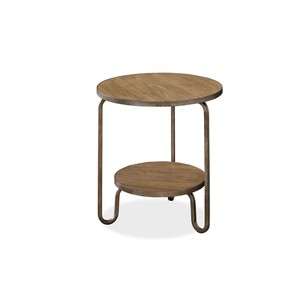 Moderne Muse Round End Table