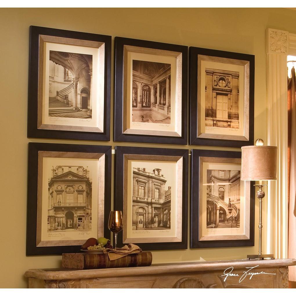 Paris Scene Framed Art   The Uttermost Company