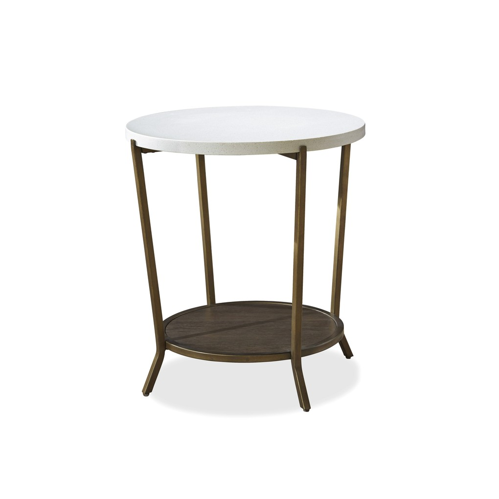 Playlist Round End Table | Universal Furniture