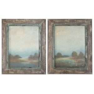 Morning Vistas Framed Art