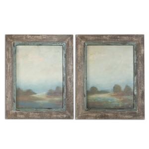 Morning Vistas Framed Art