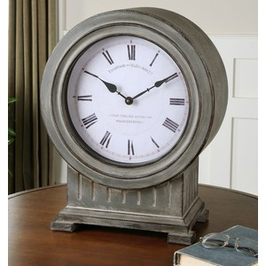 Chouteau Mantel Clock   The Uttermost Company