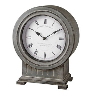 Chouteau Mantel Clock | The Uttermost Company
