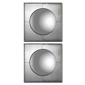 Savio Circle in Square Mirrors | The Uttermost Company