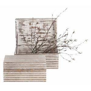 Set of Two Trinity Small Boxes | Arteriors