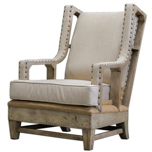 Schafer Arm Chair   The Uttermost Company