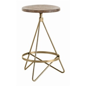Wyndham Swivel Counter Stool | Arteriors