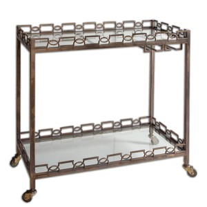 Nicoline Serving Cart | The Uttermost Company