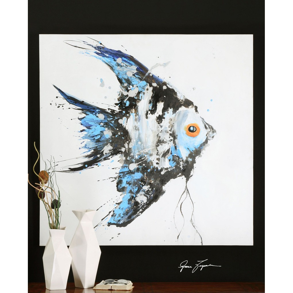 Blue Angel Wall Art   The Uttermost Company