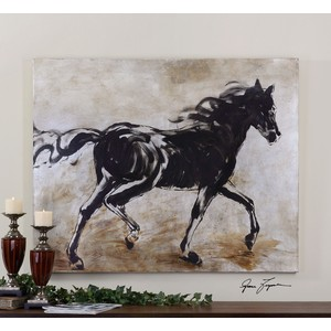 Blacks Beauty Wall Art | The Uttermost Company