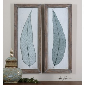 Tall Leaves Wall Art | The Uttermost Company