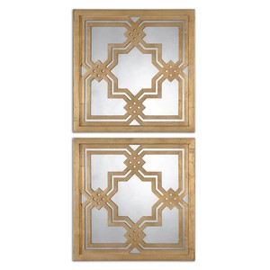 Piazzale Squares Mirror | The Uttermost Company