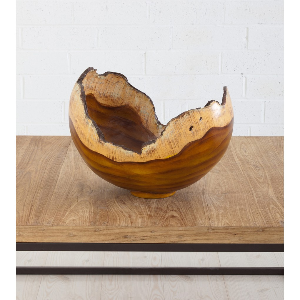 Burled Bowl in Faux Bois | Phillips Collection