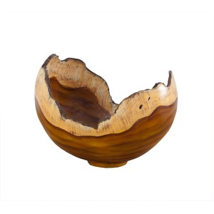 Burled Bowl in Faux Bois