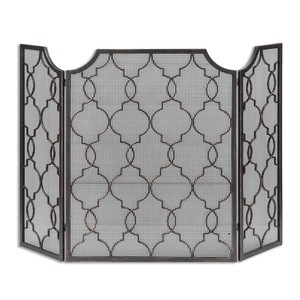 Charlie Fireplace Screen | The Uttermost Company