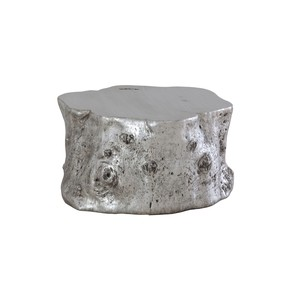 Silver Leaf Log Cocktail Table | Phillips Collection
