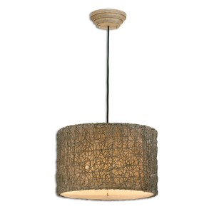 Knotted Rattan Light Pendant | The Uttermost Company