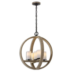 Gironico Round Pendant | The Uttermost Company