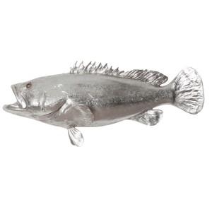 Estuary Cod Fish in Silver Leaf