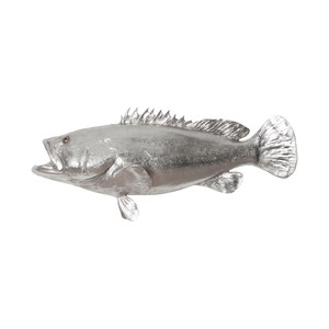 Estuary Cod Fish in Silver Leaf