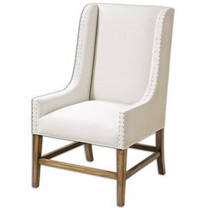 Dalma Wing Chair | The Uttermost Company