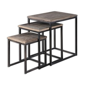Bomani Nesting Tables - Set of Three   The Uttermost Company