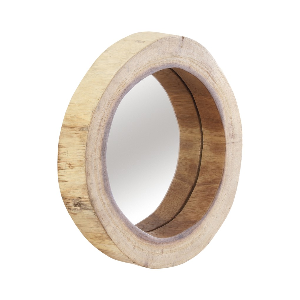 Camcha Wooden Decor Accent Mirror | Phillips Collection
