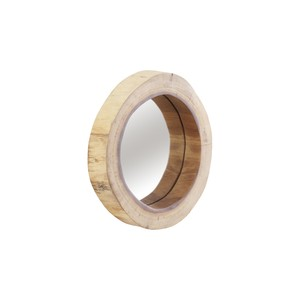 Camcha Wooden Decor Accent Mirror