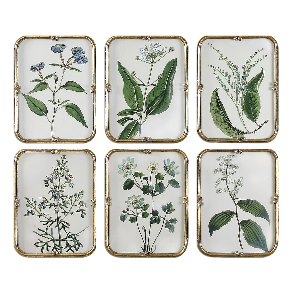 Blue Floral Collection Art | The Uttermost Company