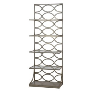 Lashaya Silver Etagere | The Uttermost Company