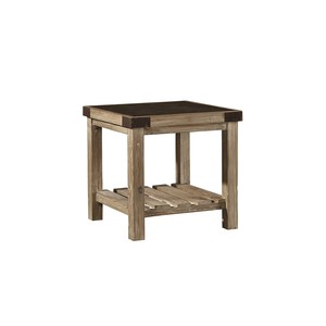 Bluestone Top Side Table