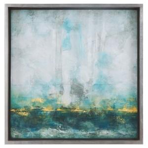 Aqua Blue Art
